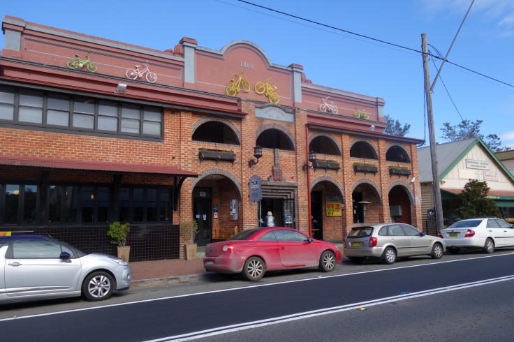 Here it is - The Berry Hotel - home of the alpaca burger