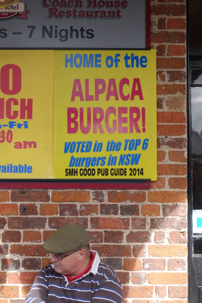 Its fair to say Alpaca Burgers rule at the Berry Hotel!