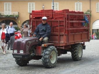 Italy: Monforte d'Alba street scenes