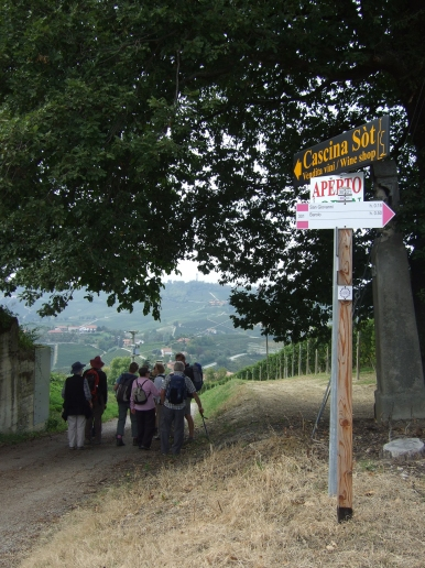 Italy: Piedmont walking